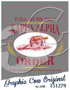 Kappa Alpha Order cannon rush fraternity #grafcow