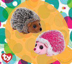 872edfb497e Spike and Mrs. Prickly are ready to play! These hedgehogs will roll around  all day! Ty Inc. Beanie Boos
