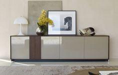 contemporary lacquered sideboard WHAT by Rodolfo Dordoni  Molteni & C