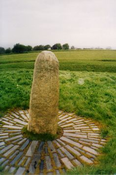 Lia Fail  Hill of Tara, Ireland