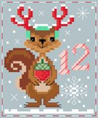 BrookesBooksPublishing. Sophie Squirrel. She's a little nutty for Christmas.