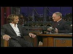 Warren Zevon - His Last David Letterman Show on October 30, 2002 - Part 1/4 (HD) - YouTube