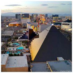 Vue sur Las Vegas depuis le Delano Delano Las Vegas, Quiche Lorraine, Skyfall, Foie Gras, San Francisco Skyline, Rome, Madrid, Building, Rome Italy