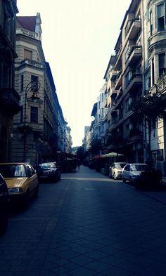 street in Budapest