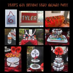 Ninjago Birthday party I did for my son.. :)