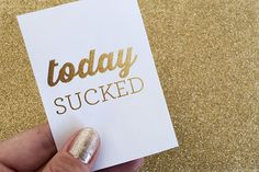 Because sometimes, there are bad days... Freebie | Bad Day Project Life Cards by Caylee Grey