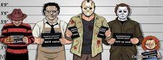 Capas de Personagens de terror para facebook