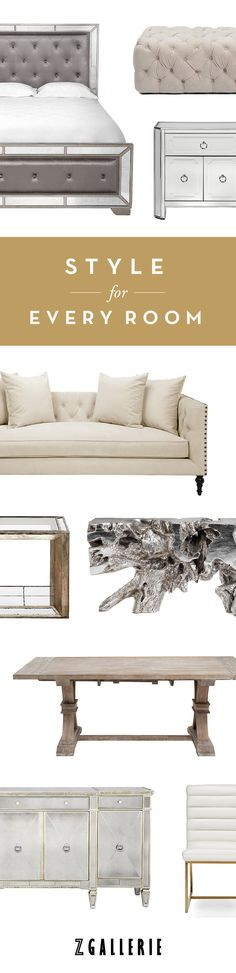 Find chic, fashion forward style for every room in your home.