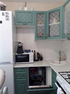 Budget Kitchen Remodel, Kitchen On A Budget, Diy On A Budget, Kitchen Room Design, Home Decor Kitchen, Basement Apartment, Little Kitchen, Cozy House, Home Organization