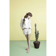 El perfecto tweed jacket/The perfecto tweed jacket :  this super trendy version is made from a superb Italian lurex tweed