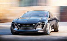 Concept Cars - Autos, die so nie gebaut werden Träumen muss man auch von diesem Prachtburschen. Mit der Studie des Opel Monza beschwören die Rüsselsheimer Erinnerungen an die großen Zeiten herauf. Dabei ist das Coupé das Futuristischste, was Opel seit langem gezeigt hat.