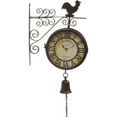 Ρολόι Τοίχου Σταθμού Καφέ με καμπάνα  Τιμή: €31,80 http://www.lovedeco.gr/p.Roloi-Toichou-Stathmoy-Kafe-me-kampana.867397.html