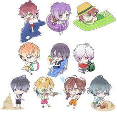 Cute !! <3 Diabolik Lovers Mukami and Sakamaki