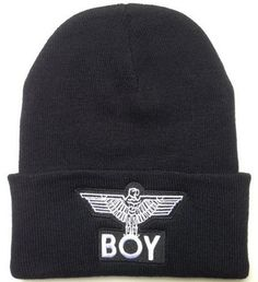 64238838082 Women s Men s Hat Fashion Warm Winter Knit Cap Hip-hop Beanie Hats Black New