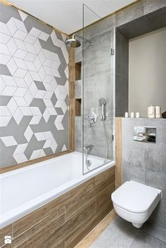 Want a half bathroom that will impress your guests when entertaining? Update your bathroom decor in no time with these affordable, cute half bathroom ideas. Half Bathroom Decor, Bathroom Niche, Small Space Bathroom, Modern Bathroom Design, Bathroom Interior Design, Bathroom Designs, Master Bathroom, Bathroom Ideas, Small Spaces