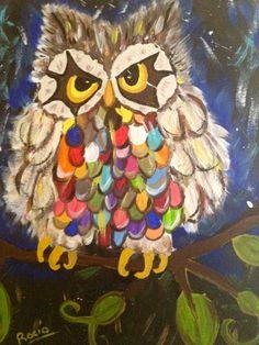 Serie owls 2 by Rocío Rivera