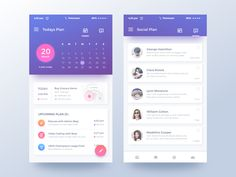 Qplanning App – User interface by Rifayet Uday