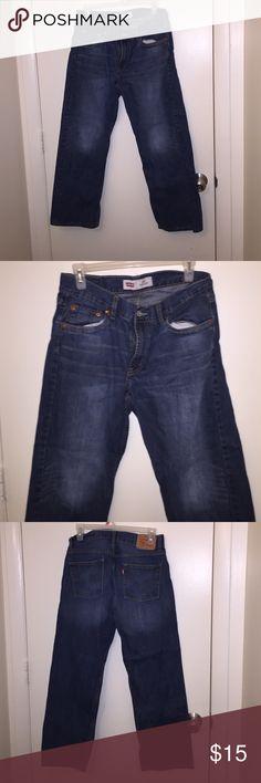 Blue jeans Denim blue Levi's jeans just like new Levi's Bottoms Jeans
