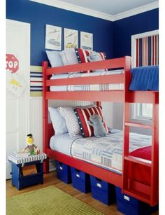 My young boys will have bunk beds if they are the first two or last two to be born.