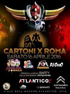 CARTONI per ROMA 3 ore di musica live - sigle di cartoni e di telefilm dagli anni 70 ad oggi. #cartoni #musica