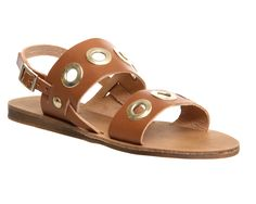 Office Ora Eyelet Sandal Tan Leather - Sandals Best Lingerie, Beautiful Lingerie, Tan Leather Sandals, California Cool, Working Together, Oras, Kinky, Fashion Shoes, Footwear