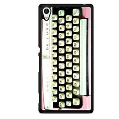 Typewriter TATUM-11512 Sony Phonecase Cover For Xperia Z1, Xperia Z2, Xperia Z3, Xperia Z4, Xperia Z5