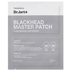 Dr. Jart+ Blackhead Master Patch is a treatment that leaves your pores feeling clean and tight.
