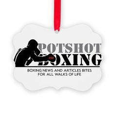 Potshot Boxing Logo Ornament