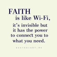 Your faith is your own
