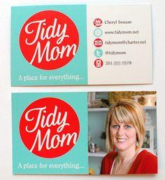 Tidy Mom biz cards
