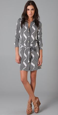 DVF Shirtdress...and on sale at ShopBop.
