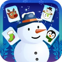 Frozen Mahjong is a winter-themed mahjong game that has nothing to do with the film. #Android #App