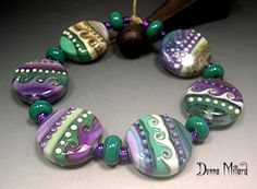 New glass beads available in my etsy shop.  Click the pic to go there NOW!