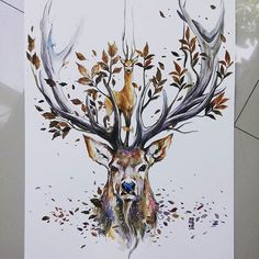 """Good Morning Bali. """"Natural Spirit"""" Watercolors on Fabriano size 36x48cm 300gsm…"""