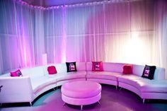 Vip Diamond Lounge For Diamond Amp Bling Theme Bat Mitzvah