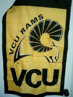 VCU Virginia Commonwealth University Rams Garden Flag #unbranded #VCURAMS