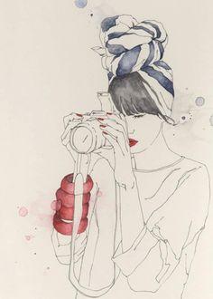 6 Fashion Illustrations We Love   theglitterguide.com
