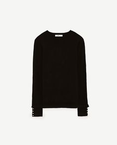 Image 6 of SWEATER WITH SLEEVE FRILL from Zara