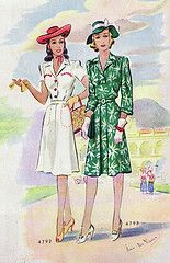 1940's sewing pattern