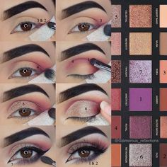 Golden Rules on How to Do Makeup to Get a Wow Effect ★ See more: https://makeupjournal.com/how-to-do-makeup-golden-rules/ #nails