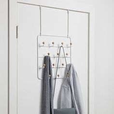 10 Organizers To Store Purses And Handbags - Purse Storage Ideas Over The Door Organizer, Over The Door Hooks, Hanging Closet Organizer, Purse Storage, Handbag Organization, Home Organization, Organizing, Closet Storage, Tiny Bathrooms