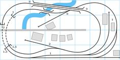 The White River and Northern Model Railroad: Track Plans for Other People