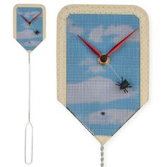 Fly Clock by Kikkerland, available in the Museum Shop