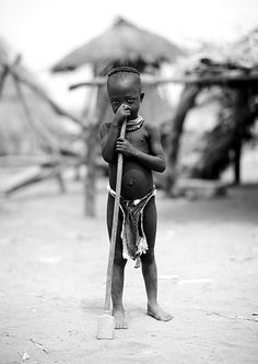 Karo tribe little girl - Korcho Ethiopia | Flickr - Photo Sharing!