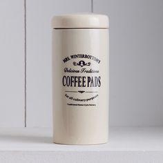 MRS. WINTERBOTTOM'S Kaffeepaddose