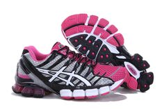 the latest ce287 dd883 Asics Gel Kinsei 4 Men s Running Shoes Pink Black  onitsukatiger