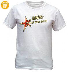 Macho-Geburtstags/Jahrgangsshirt/Spaßshirt: geborener Super Held seit 1987  geniales Geschenk (*Partner-Link) | Shirts zum Geburtstag für Männer |  Pinterest ...
