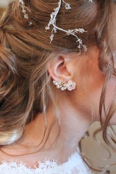 Luli Art Bijoux _Bridal Collection SS15 Photoshooting - Anemos Bracelet Shop online! shop.luliartbijoux.com Foto: Enzo Gnasso | Sposami Oggi Model: Egita Grinberga