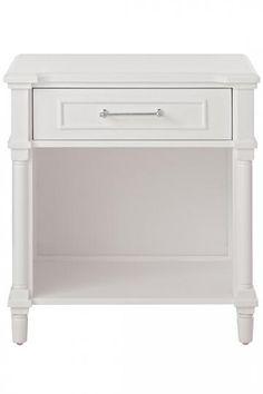 Aberdeen Nightstand - Nightstand - Bedside Table - Bedroom Furniture - One-drawer Nightstand - Lamp Table | HomeDecorators.com
