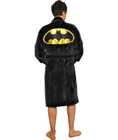 Buy Batman Adult Fleece Robe at Argos.co.uk - Your Online Shop for Men's clothes, Character gifts.